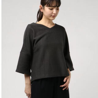 ベイフロー(BAYFLOW)のBAYFLOW  セッケツリブプルオーバー(Tシャツ(長袖/七分))
