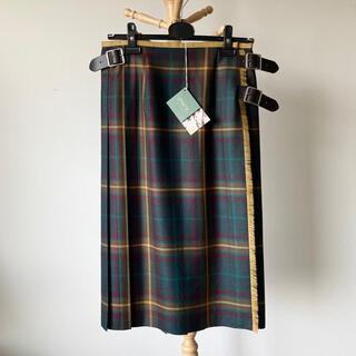 オニール(O'NEILL)の【別注新品】O'NEIL of DUBLIN 100%ウールキルトスカート 10(ロングスカート)