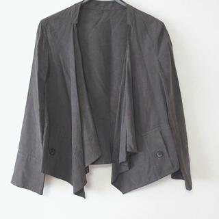 イネド(INED)の美品イネドジャケット♡ジルスチュアートアプワイザーリッシェジャスグリッティーロペ(ノーカラージャケット)