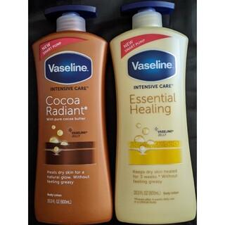 ヴァセリン(Vaseline)のヴァセリン ボディローション エッセンシャルヒーリング ココアバター(ボディローション/ミルク)