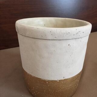 ウニコ(unico)の【unico ウニコ】セメント鉢カバー 観葉植物 花瓶 鉢植え 北欧 インテリア(花瓶)