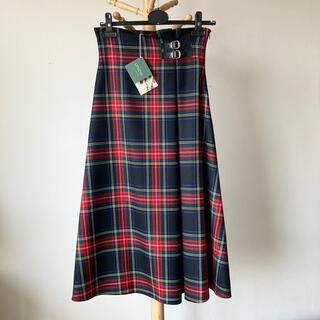 オニール(O'NEILL)の【新品】O'NEIL of DUBLIN 100%ウールAラインスカート 8(ロングスカート)