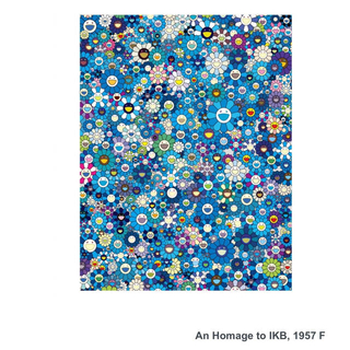 村上隆 ポスター An Homage to IKB, 1957 F 新品(その他)