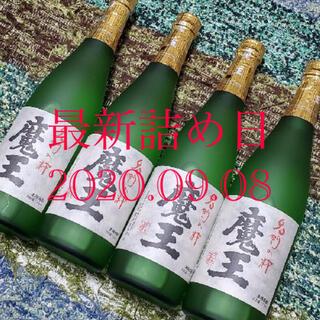 魔王  720ml 4本セット  箱なし  送料無料(焼酎)