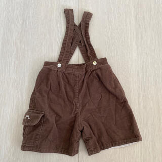 ボンポワン(Bonpoint)のシャトードサーブル 6mo. 半パンツ肩紐付き(パンツ)