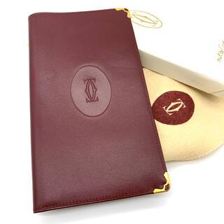 カルティエ(Cartier)の超美品✨鑑定済✨Cartier カルティエ 長財布 札入れ✨(長財布)