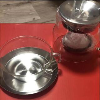 イセタン(伊勢丹)の【新品未使用】kinto ティーカップセット(カップ4つ)(食器)