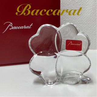 Baccarat - Baccarat クリスタル バカラ 四葉のクローバー ペーパーウェイト