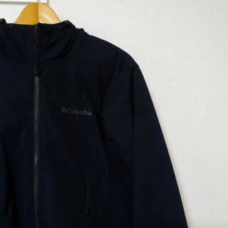 Columbia - Columbia コロンビア ロマビスタフーディー ブラック クリーニング済み