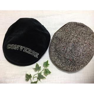 コンバース(CONVERSE)のコンバースハンチング&ツイード切り替えハンチング(ハンチング/ベレー帽)