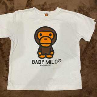 A BATHING APE - BAPE 半袖Tシャツ 120cm