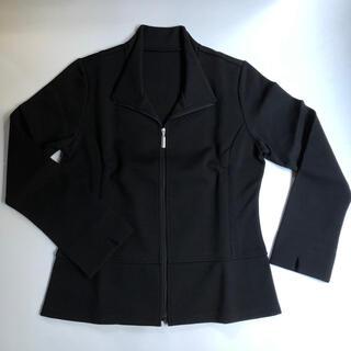 シャルレ(シャルレ)のジャケット ブラック(テーラードジャケット)