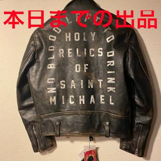 シュプリーム(Supreme)のsaint michael × schott one star (ライダースジャケット)