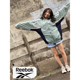 リーボック(Reebok)のReebok ナイロンジャンパー ビンテージ 古着 古着男子 古着女子(ナイロンジャケット)