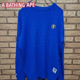 アベイシングエイプ(A BATHING APE)のA BATHING APE アベイシングエイプ  ニット セーター(ニット/セーター)