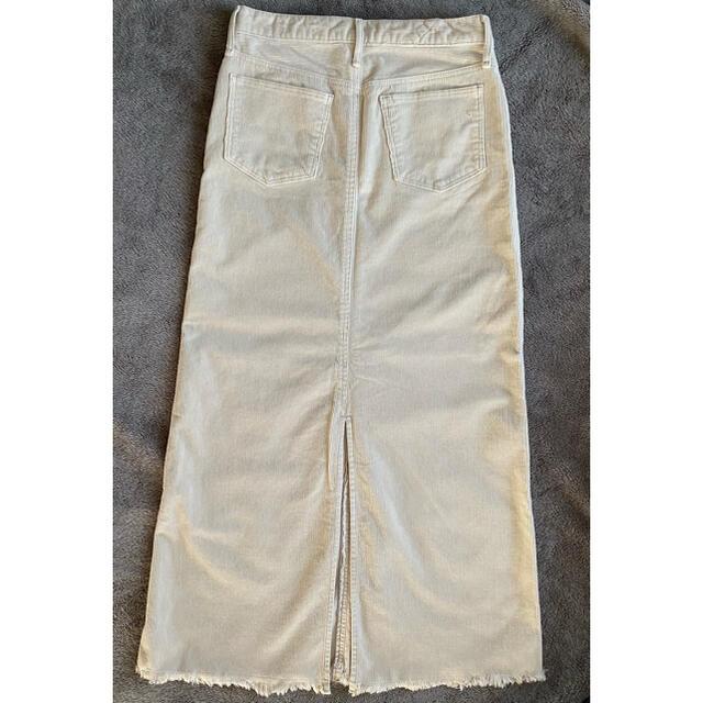 L'Appartement DEUXIEME CLASSE(アパルトモンドゥーズィエムクラス)のemi⭐︎様専用【新品未使用タグ付】アッパーハイツ コーデュロイロングスカート レディースのスカート(ロングスカート)の商品写真