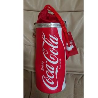 コカコーラ(コカ・コーラ)のコカ・コーラ保温保冷ボトルケースタグ付き)(弁当用品)