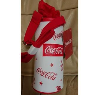 コカコーラ(コカ・コーラ)のコカ・コーラ保温保冷ボトルケースタグ付き白(弁当用品)