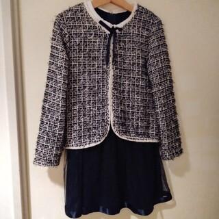 ザラ(ZARA)のワンピース+ジャケット 七五三入学式(ドレス/フォーマル)