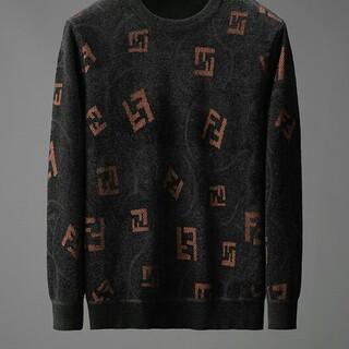 FENDI - フェンディ セーター 起毛 ロゴ