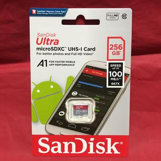 サンディスク(SanDisk)のSwitch対応 読込100MB/s SanDisk microSD 256GB(PC周辺機器)