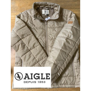 AIGLE - 新品タグ付き AIGLE  エーグル ダウン風ジャケット L 定価17600円