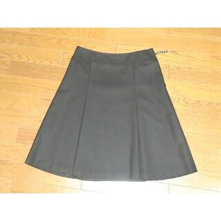 ザスコッチハウス(THE SCOTCH HOUSE)のThe Scotch House  Aラインスカート  40サイズ  黒(ひざ丈スカート)