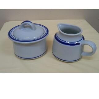 ミカサ(MIKASA)のミカサ ストーン シュガーポット & クリーマー(食器)