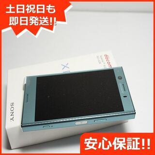 エクスペリア(Xperia)の新品 SIMロック解除済 SO-02K ブルー 本体 白ロム (スマートフォン本体)