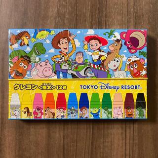 ディズニー(Disney)の【新品】トイストーリー♡クレヨン〈極太〉12色(クレヨン/パステル)