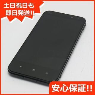 シャープ(SHARP)の美品 au SHL22 AQUOS PHONE SERIE ブラック (スマートフォン本体)