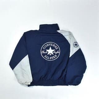 コンバース(CONVERSE)の90s CONVERSE ALL STAR ナイロンジャケット 刺繍(ナイロンジャケット)
