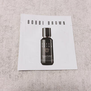 ボビイブラウン(BOBBI BROWN)のボビイブラウン インテンシブ スキンセラムファンデーション  サンプル(ファンデーション)
