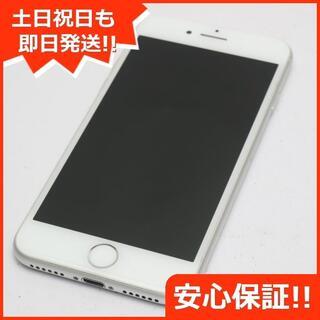 アイフォーン(iPhone)の超美品 DoCoMo iPhone8 256GB シルバー (スマートフォン本体)