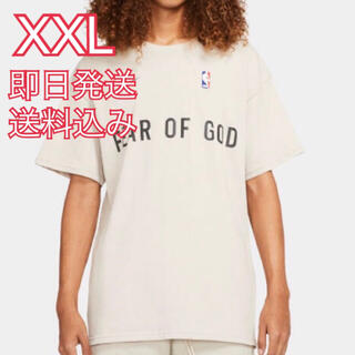ナイキ(NIKE)のXXL NIKE FEAR OF GOD M NRG W TOP オートミール(Tシャツ/カットソー(半袖/袖なし))