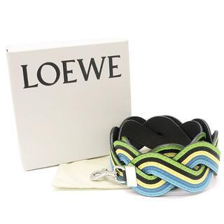 ロエベ(LOEWE)のLOEWE ウェービー レインボー ストラップ ショルダー レザー A3378(その他)