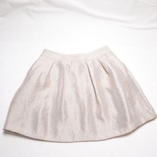 ミッシェルクラン(MICHEL KLEIN)の☆MICHEL KLEIN☆ライトベージュのスカート♪レディースМサイズ(ひざ丈スカート)