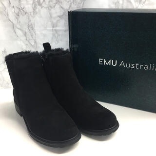 EMU - emu エミュー パイオニア ショートブーツ W11292 23cm 防水