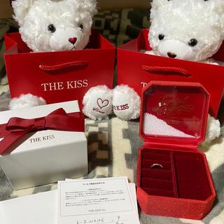 ザキッス(THE KISS)の50%以上お値引き!THE KISS K10 ピンクゴールド リング 9号(リング(指輪))