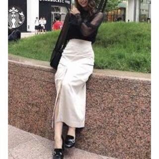 リエンダ(rienda)のrienda♡ロングスリットスエードスカート(ロングスカート)