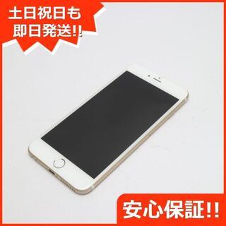 アイフォーン(iPhone)の新品同様 DoCoMo iPhone6 PLUS 16GB ゴールド (スマートフォン本体)
