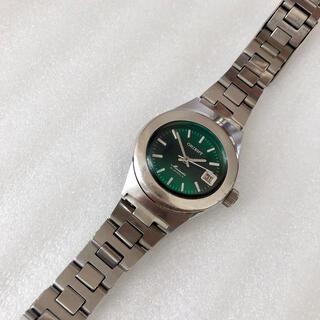 ORIENT - ORIENT 21石 レディース自動巻/手巻き式腕時計 稼動品