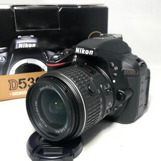 ニコン(Nikon)のNikon D5300 18-55 VRⅡ KIT 2415ショット美品(デジタル一眼)