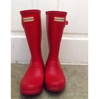 ハンター(HUNTER)のHUNTER レインブーツ UK13(19cm)(長靴/レインシューズ)