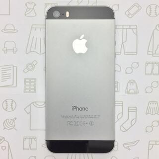 アイフォーン(iPhone)の【B】iPhone5s/16GB/358808053131912(スマートフォン本体)