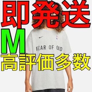 フィアオブゴッド(FEAR OF GOD)の【即配】Nike fear of god Tシャツ グレー M 新品(Tシャツ/カットソー(半袖/袖なし))