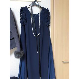 レッセパッセ(LAISSE PASSE)のLAISSE PASSEドレス(ひざ丈ワンピース)