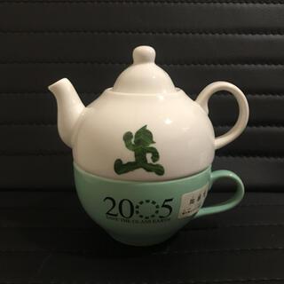 セガ(SEGA)の【非売品】2005年 愛知万博 愛地球博 鉄腕アトム ティーポット ティーカップ(食器)