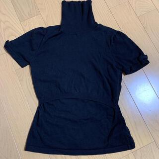 授乳服♡スウィートマミーリボン付きニット(マタニティワンピース)