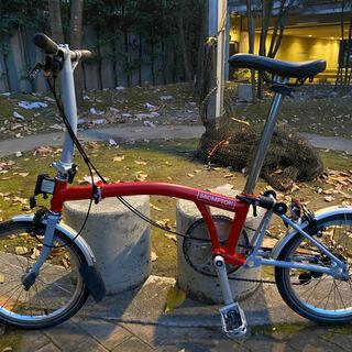ブロンプトン(BROMPTON)の2017年製ブロンプトン整備済S2L 希少オーダーカラー Brompton 軽量(自転車本体)